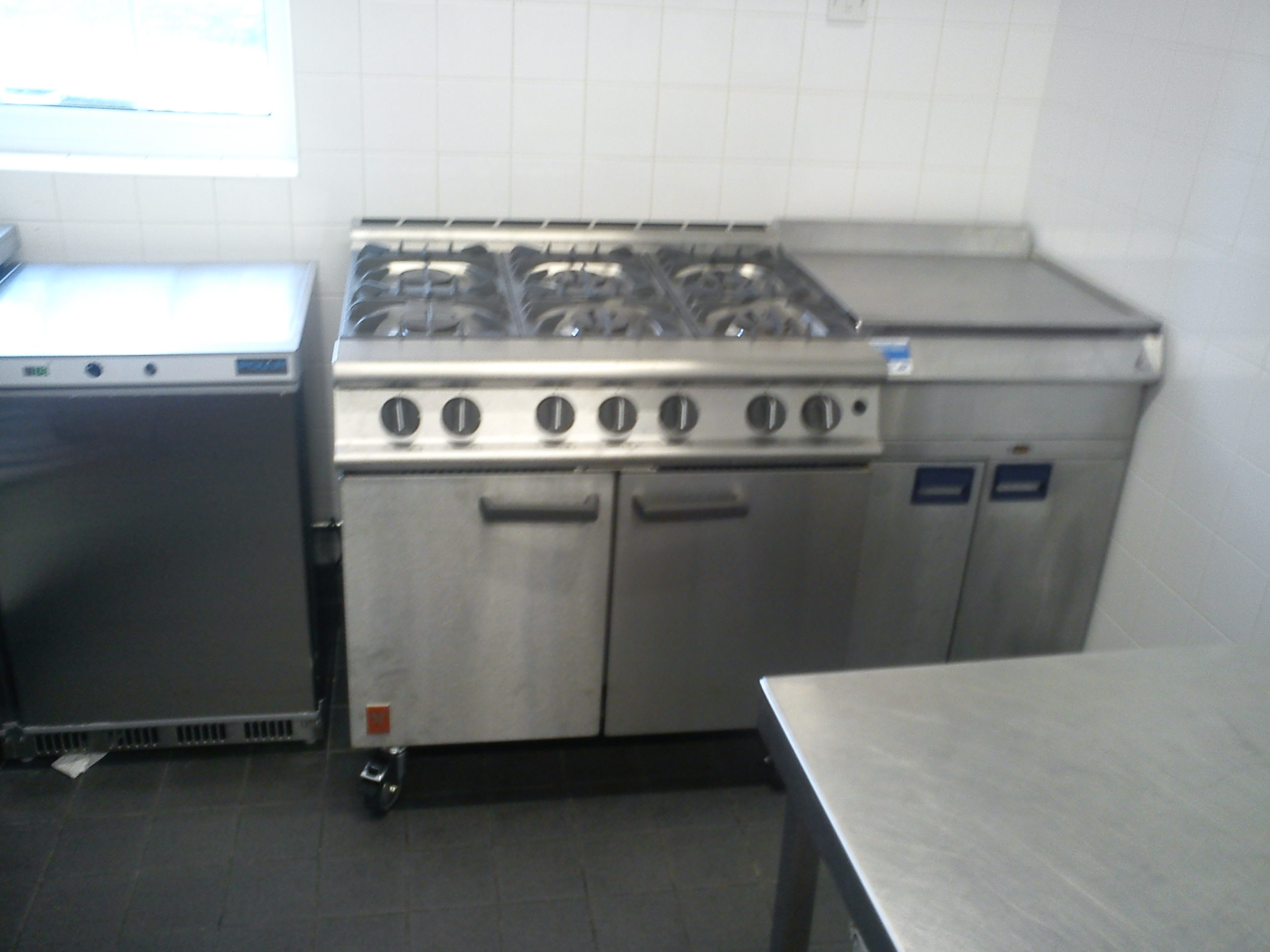 View of the cooker